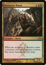 Ruination Wurm image