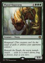 Plated Slagwurm image
