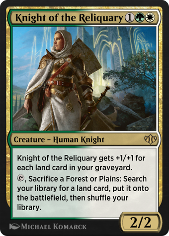 Knight of the Reliquary image