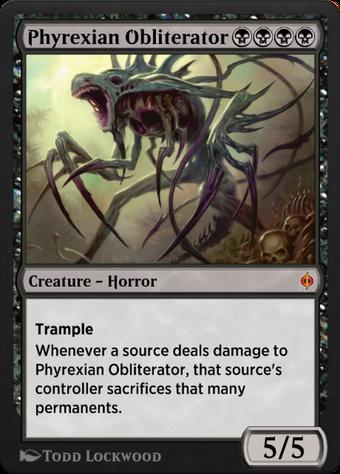 Phyrexian Obliterator image
