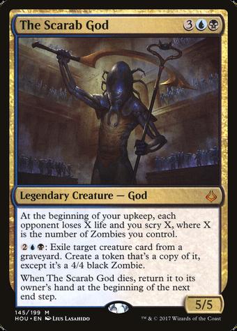 The Scarab God image