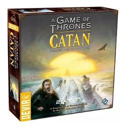 Catan Game Of Thrones Brotherhood Watch Jogo Tabuleiro image
