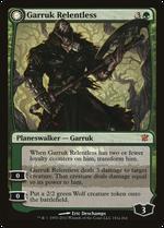 Garruk Relentless // Garruk, the Veil-Cursed image