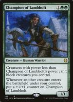 Champion of Lambholt image