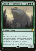 Craterhoof Behemoth image
