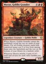 Muxus, Goblin Grandee image