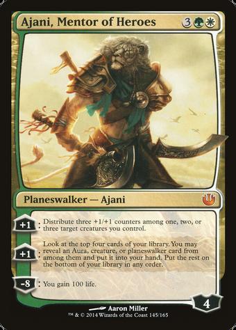 Ajani, Mentor of Heroes image