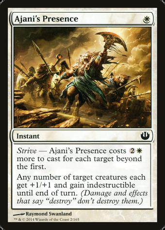 Ajani's Presence image