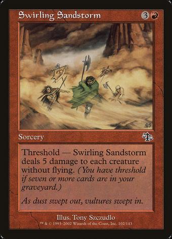 Swirling Sandstorm image