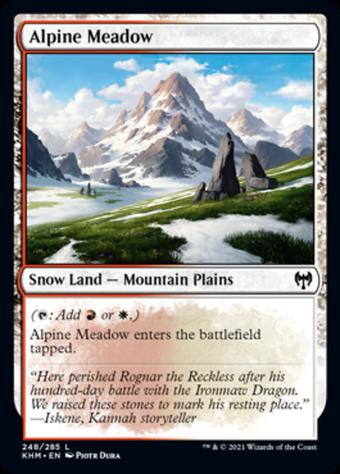 Alpine Meadow image