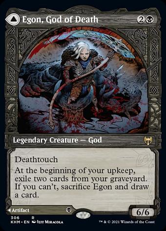 Egon, God of Death // Throne of Death image