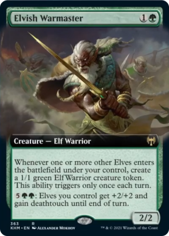 Elvish Warmaster image