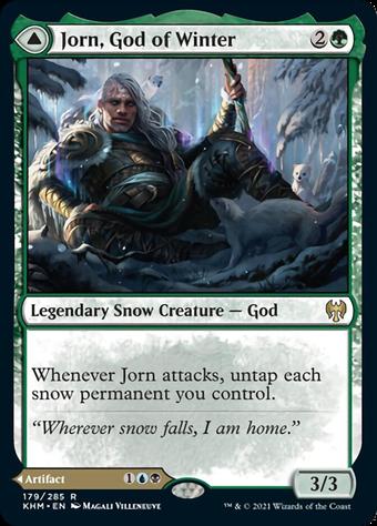 Jorn, God of Winter // Kaldring, the Rimestaff image