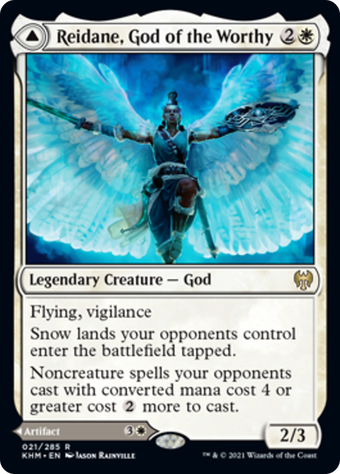 Reidane, God of the Worthy // Valkmira, Protector's Shield image