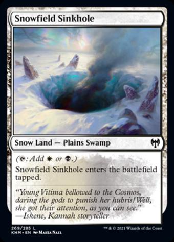 Snowfield Sinkhole image