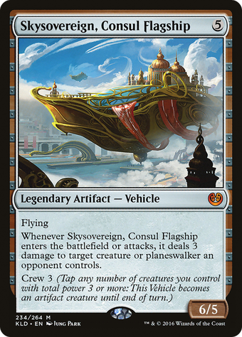 Skysovereign, Consul Flagship image