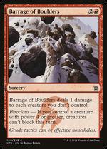 Barrage of Boulders image