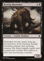 Rotting Mastodon image