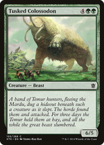 Tusked Colossodon image