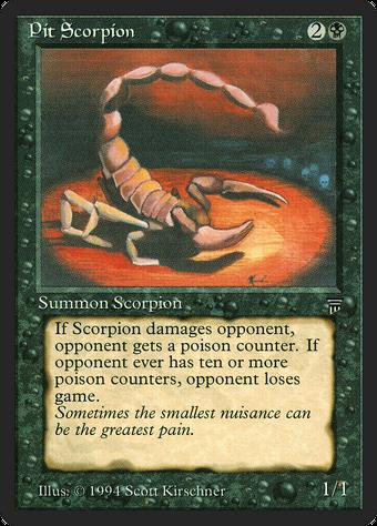 Pit Scorpion image