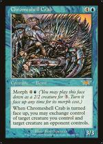 Chromeshell Crab image