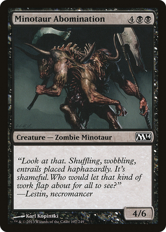 Minotaur Abomination image