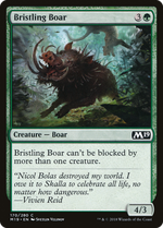 Bristling Boar image