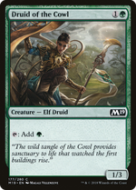 Druid of the Cowl image