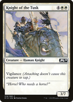 Knight of the Tusk image