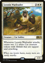 Leonin Warleader image