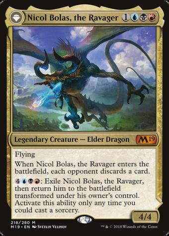 Nicol Bolas, the Ravager // Nicol Bolas, the Arisen image