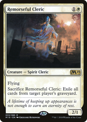 Remorseful Cleric image