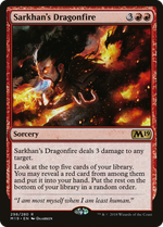 Sarkhan's Dragonfire image