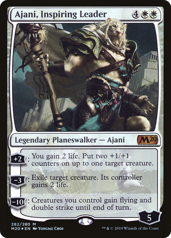 Ajani, Inspiring Leader image