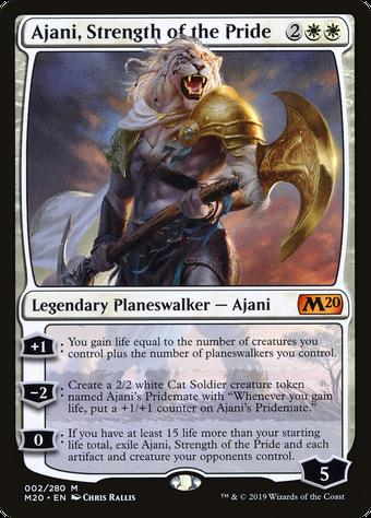 Ajani, Strength of the Pride image