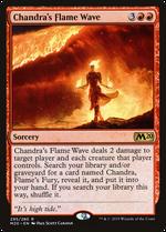 Chandra's Flame Wave image