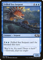 Frilled Sea Serpent image