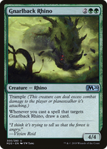 Gnarlback Rhino image