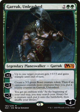 Garruk, Unleashed image