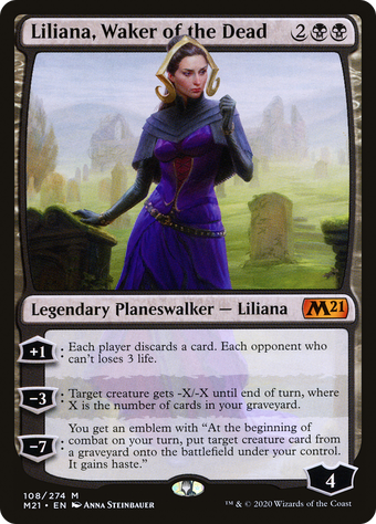 Liliana, Waker of the Dead image