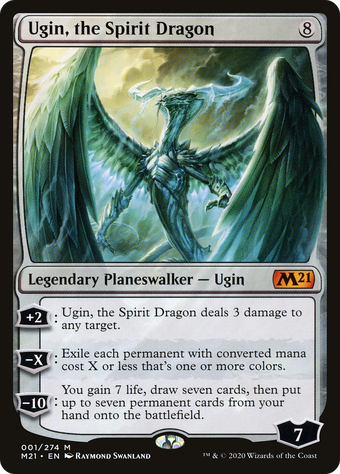 Ugin, the Spirit Dragon image