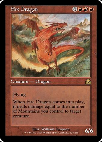 Fire Dragon image