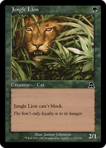 Jungle Lion image