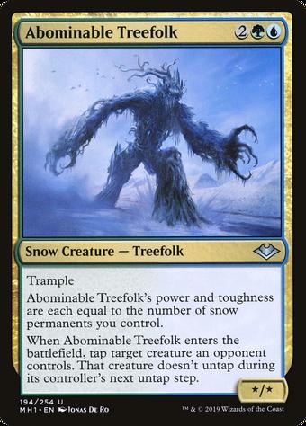 Abominable Treefolk image