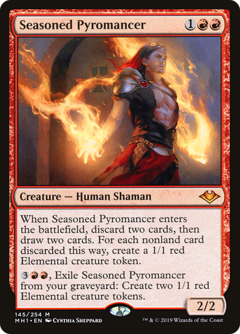 Seasoned Pyromancer image