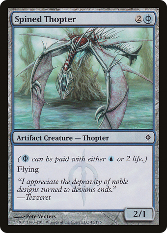 Spined Thopter image