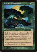 Kamahl's Summons image
