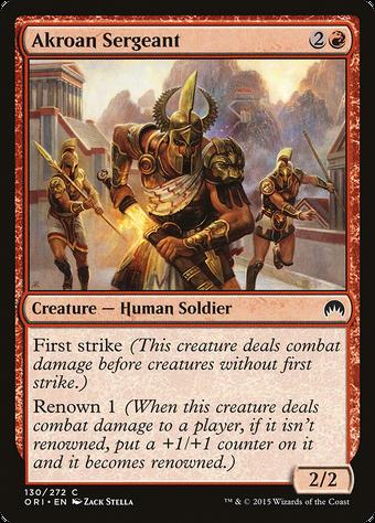 Akroan Sergeant image