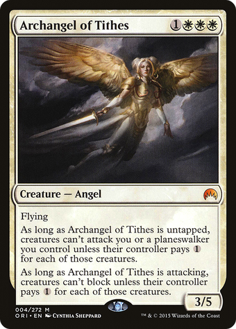 Archangel of Tithes image