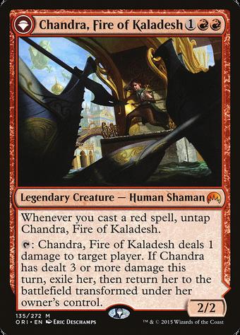 Chandra, Fire of Kaladesh // Chandra, Roaring Flame image